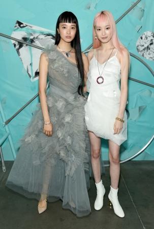 萬波ユカ、フェルナンダ・リー Photo Credit Getty Images for Tiffany & Co.