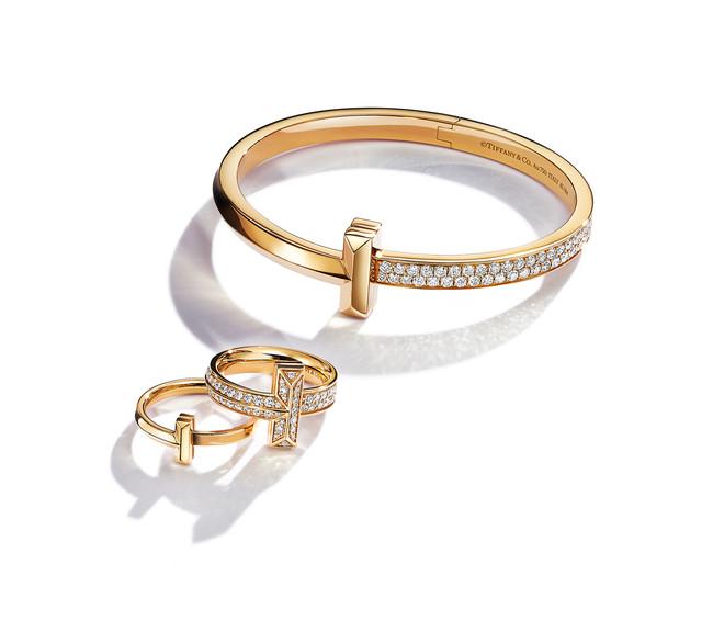 2020年9月1日より順次発売予定 Tiffany T1 (ティファニー T ワン) イエローゴールド全9型
