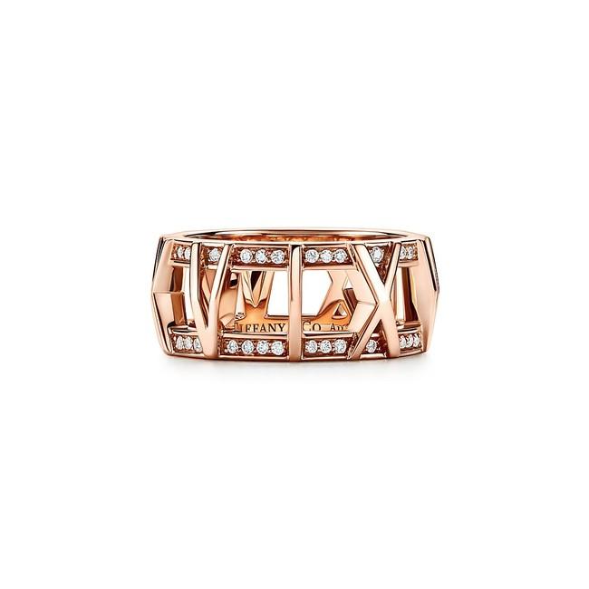 ティファニー アトラス X オープン リング 18Kローズゴールド ダイヤモンド ¥511,500(税込)