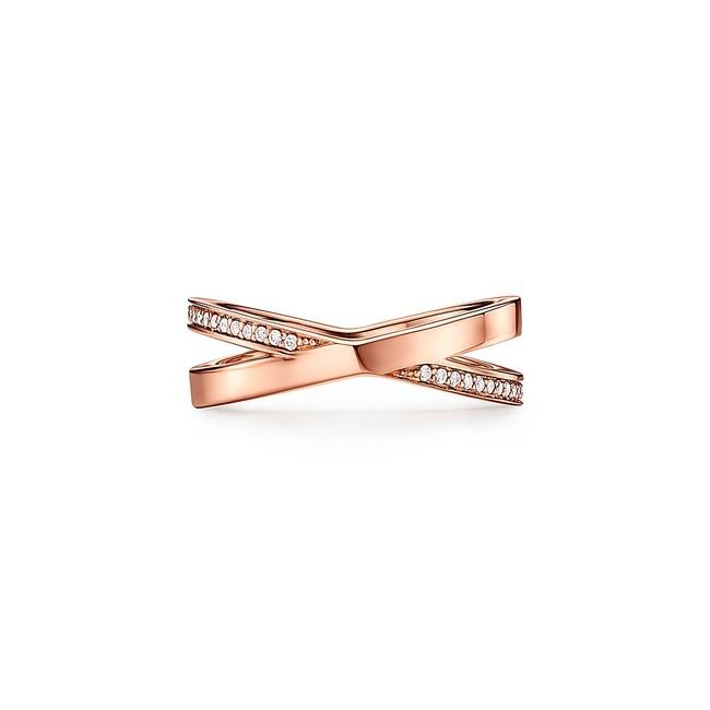 ティファニー アトラス X ナロー リング 18Kローズゴールド ダイヤモンド ¥269,500(税込)