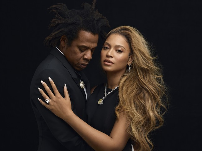 Beyonce and JAY-Z for the Tiffany & Co. fall 2021 ABOUT LOVE campaign, shot by Mason Poole.