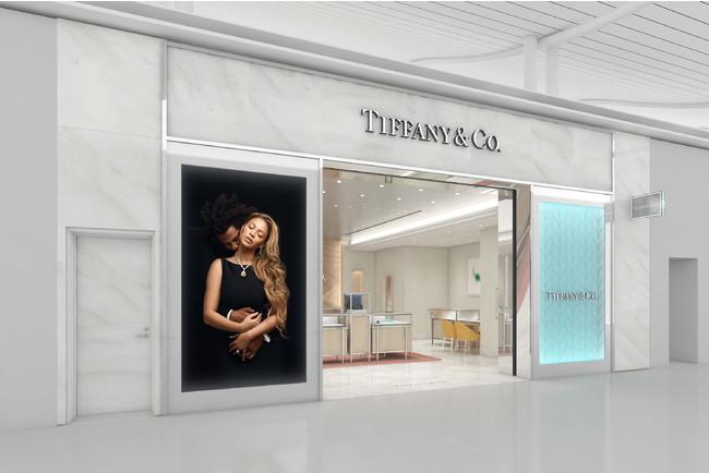 ティファニー 関西国際空港店 ファサード 完成予想イメージ