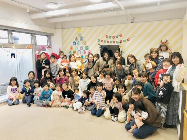 3ヶ月に1度開催しているメンバー感謝祭の様子(クリスマス会)