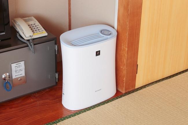 全室 空気清浄機を設置