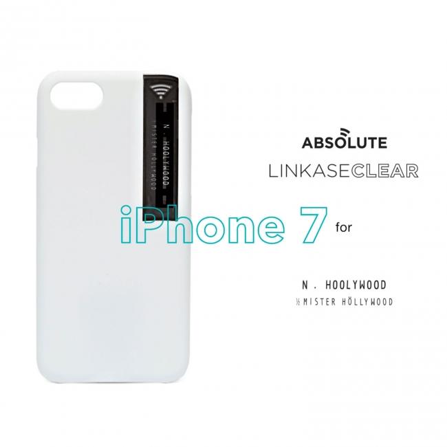 46499b37bb LINKASE CLEAR for iPhone 7をベースとし、マットなボディに、アンテナ部分はN.HOOLYWOODのタグを彷彿とさせるデザイン。  シンプルで実用的なデザインは、毎日の必需品 ...