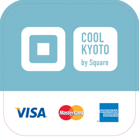 「COOL KYOTO by Square」参加加盟店用ステッカー