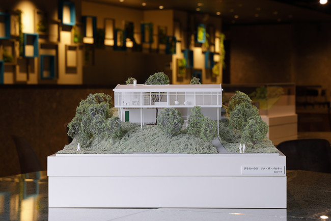 建築模型(グラスハウス)