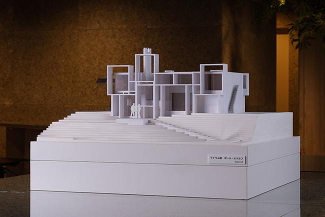 建築模型(マイラム邸)