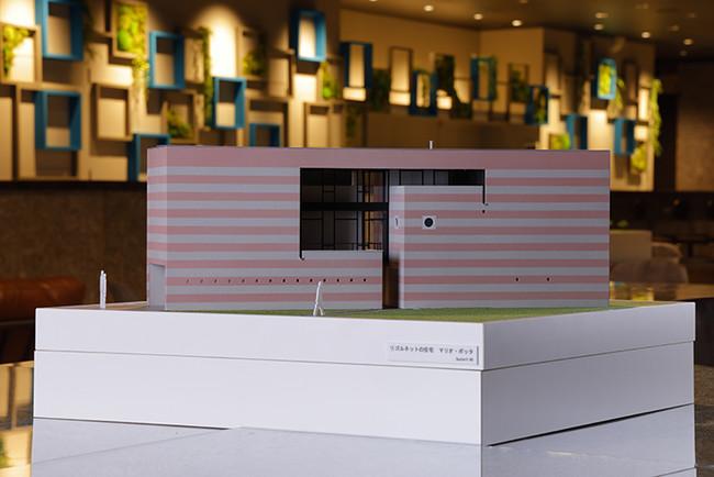 建築模型(リゴルネットの住宅)