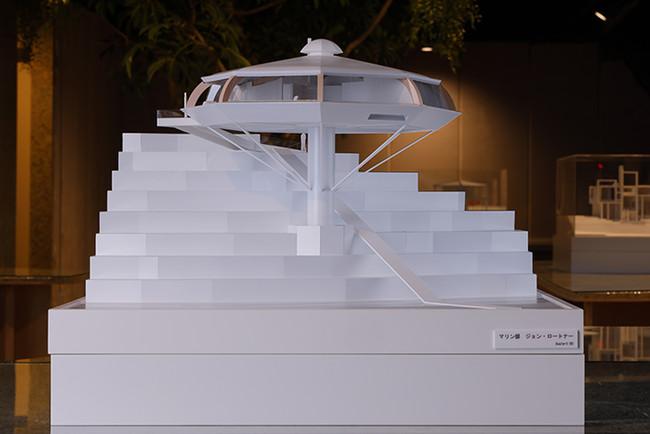 建築模型(マリンレジデンス「ケモスフィア」)