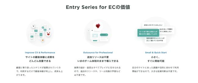KARTE Entry Series for ECの価値