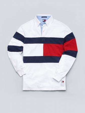 フラッグラグビーシャツ ¥18,000(税抜)