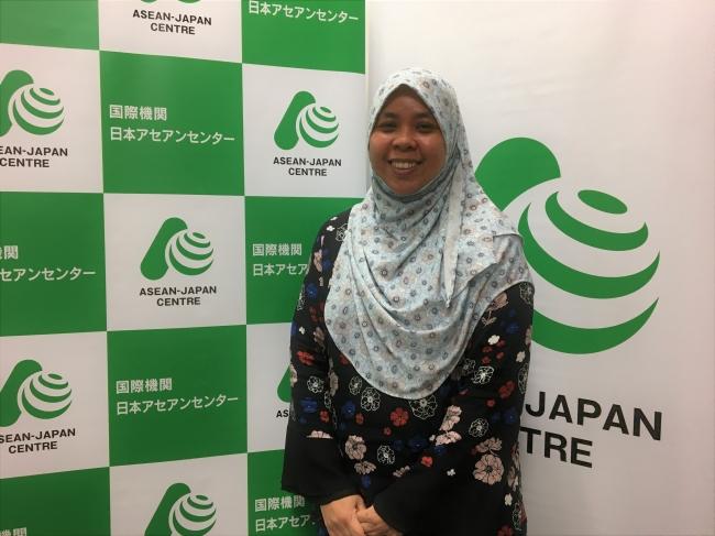 新任のロズィヤナハユ・日本アセアンセンター事業統括長