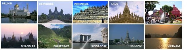 観光業が盛んなASEAN加盟10カ国