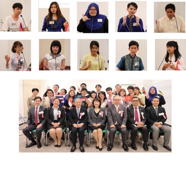 第33回日本語スピーチ発表会の様子(2018年10月)