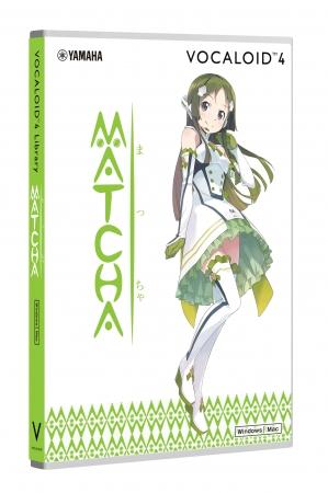 ヤマハ ソフトウェア『VOCALOID4 Library MATCHA』9,000円(税抜)