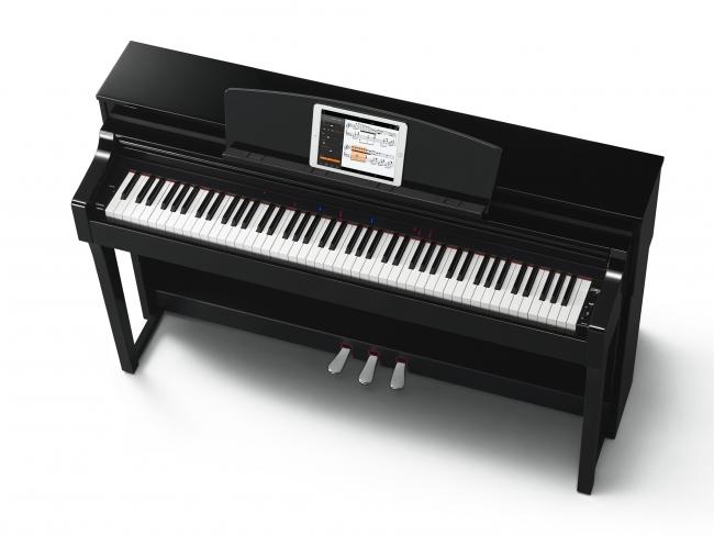 ヤマハ 電子ピアノ「クラビノーバ」 『CSP-170PE』 価格=328,000円(税抜き) ※iPadは付属しません。