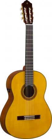 ヤマハ トランスアコースティック(TM)ギター 『CG-TA』 価格85,000円(税抜)