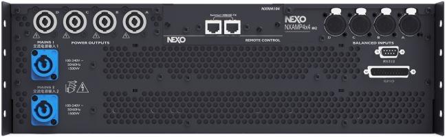 NEXO パワードデジタルTDコントローラー『 NXAMP4x4MK2 』