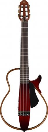 ヤマハ サイレントギター『SLG200シリーズ』 ナイロン弦仕様の『SLG200N CRB』
