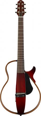 ヤマハ サイレントギター『SLG200シリーズ』 スチール弦仕様の『SLG200S CRB』