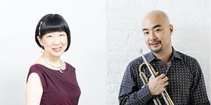 (左から)守屋純子、岡崎好朗