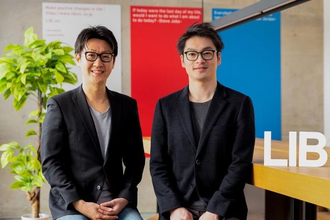 ▲代表取締役CEO 松本洋介(左)、常勤監査役 臼井亮人(右)