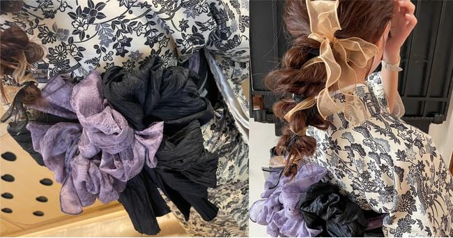 プロの着付けしによる帯アレンジ/ヘアセット髪飾り