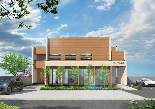 外観イメージ :2F建居宅付プラン