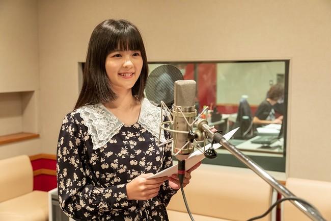 田村さんのアフレコの様子。場面によって様々な表情をみせるあこ姉さんの役を見事に演じていました