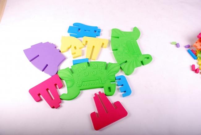 アップサイズ3Dパズル プレイマット 木馬