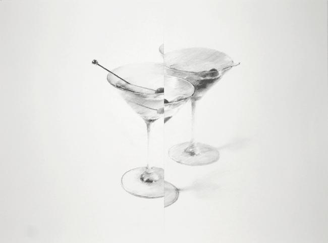 田幡浩一《one way or another (cocktail) #01》(2019)