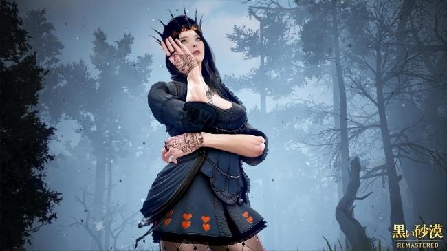 ハロウィンアバター追加クラス(闇の女王)