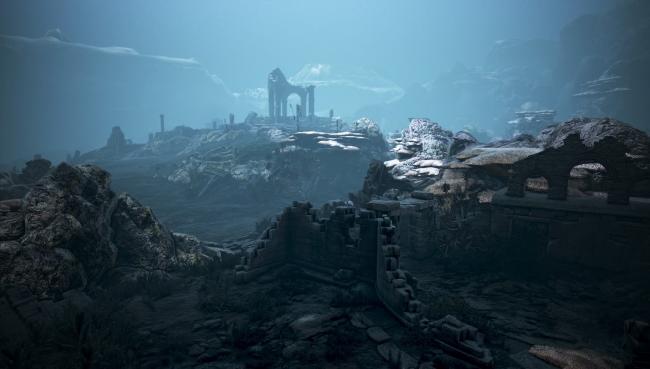 ▲シクライア海底遺跡 上層