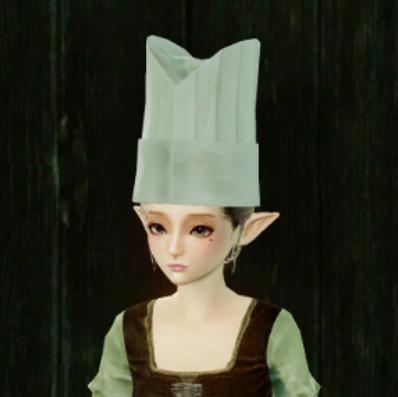 ▲新登場「料理器具:コックの帽子(頭装備)」