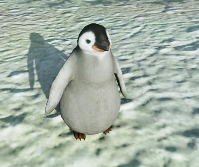 ▲戦闘ペット「アイスキングダムペンギン」