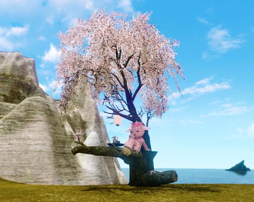 ▲「千年桜の大樹」