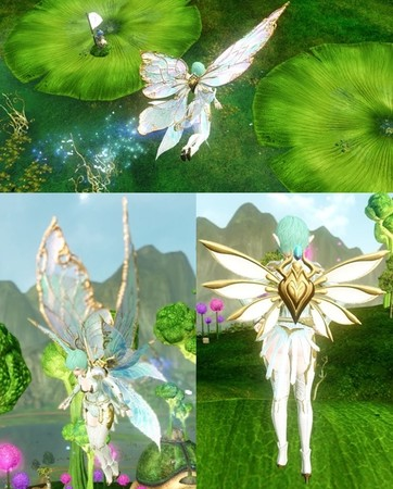 ▲ウィング「イヴェインの妖精の羽根」