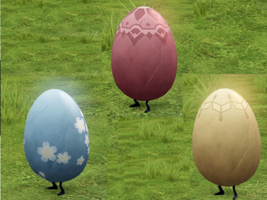 「祝福の卵ペット箱」から獲得できるペット