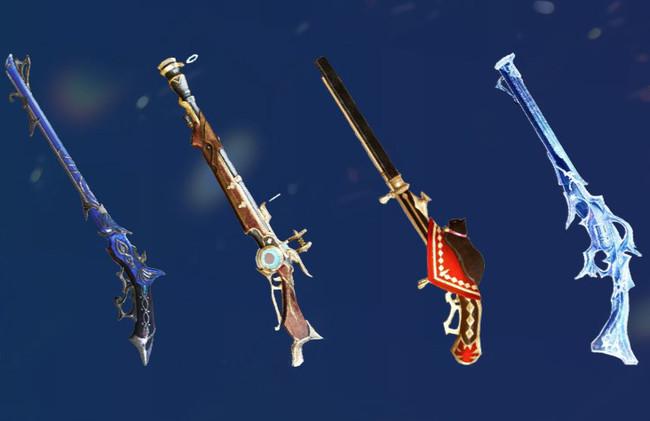 ▲新武器「散弾銃」の一例