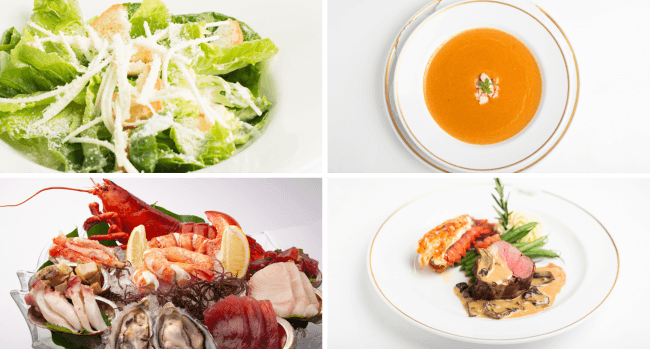 「Hawaii Lovers Special Course」料理イメージ