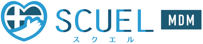 SCUEL MDM ロゴ