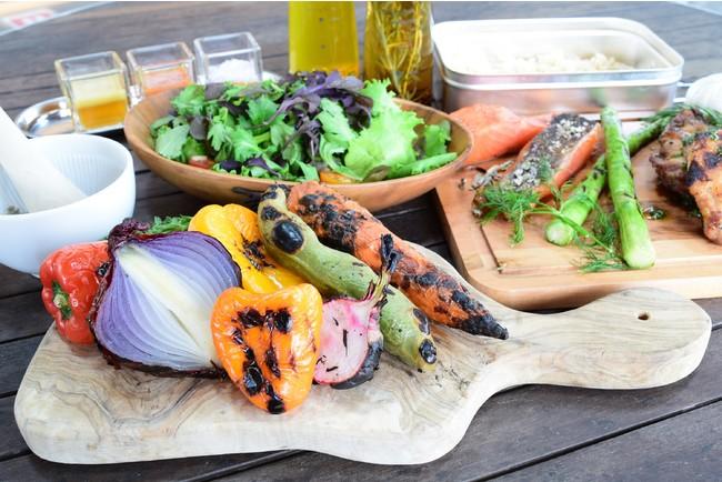 野菜を中心としたこだわりのお食事(1泊2食プラン限定)