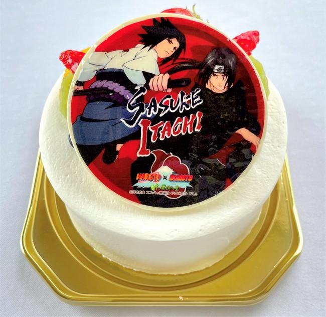 【NARUTO】うちは兄弟プリントケーキ
