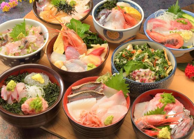 食堂街 海鮮丼(イメージ)