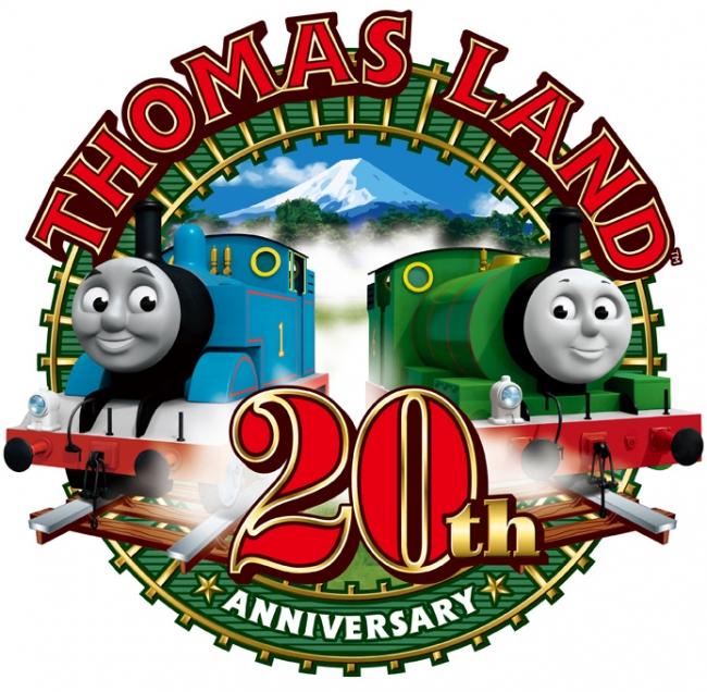 トーマスランド20周年ロゴ