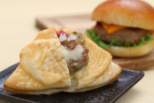 ボルトの「チーズバーガーたいやき」400円