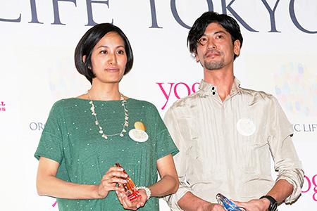 【2014年度受賞】サントーシマ香さん、更科有哉さん