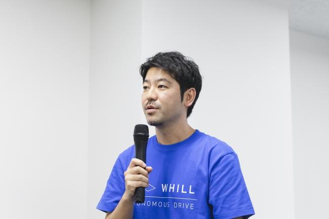 WHILL社の杉江 理代表取締役兼CEO