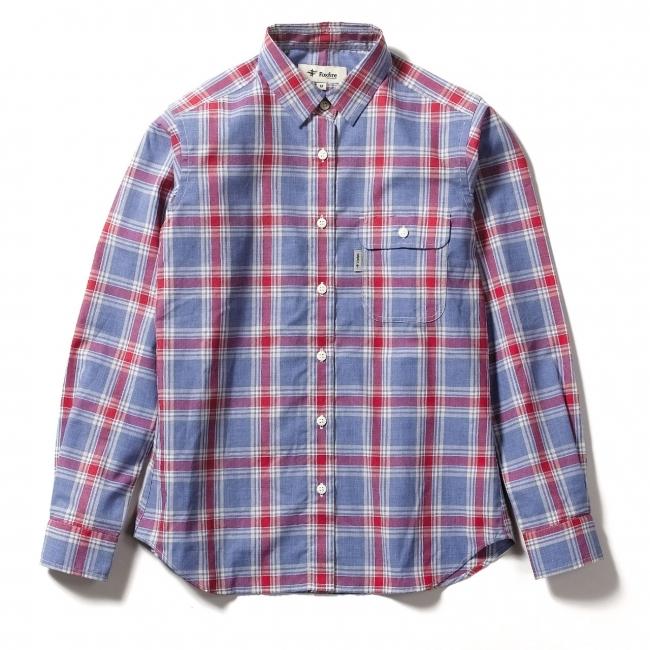 SCラージチェックシャツ ¥12,000+税 (Women's)